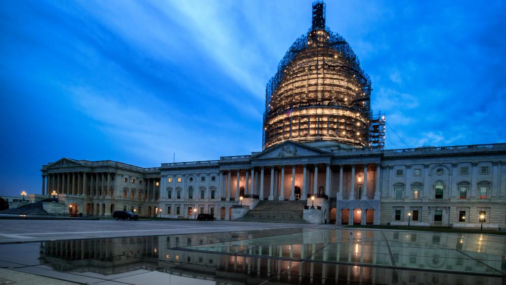 Blue Hour Capitol Building
